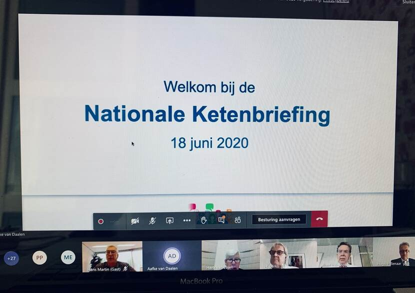 Nationale Ketenbriefing